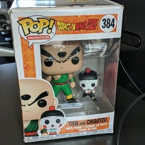 Dragonball Z Funko Pop Tienshinhan and Chiaotzu